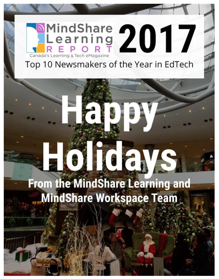 Mindshare Learning Report 2017 Top 10 Newsmakers Of The Year In EdTech